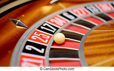 twenty five roulette - number twenty five at the roulette...