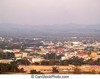 Nan city  in Thailand