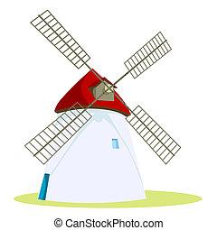 moinho de vento,