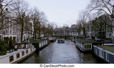 Amsterdam - 042 Brouwersgracht B3 - View of heritage city...