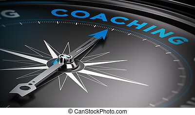Coaching - Attain personal goals, personal trainer concept....
