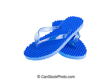 Flip Flops Isolated on White background