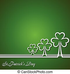 Saint Patrick's Day Design - Vector Illustration of Saint...