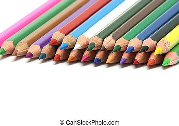 鉛筆, 堆