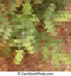 Nature colors triangle abstract background