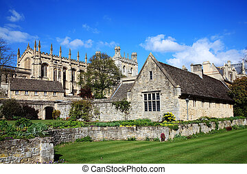 Christ Church College Oxford University in Oxfordshire was...