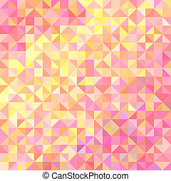 Abstract background in shades of pink and yellow - Abstract...