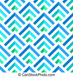 Abstract Blue and White 3D Stripes Pattern, vector