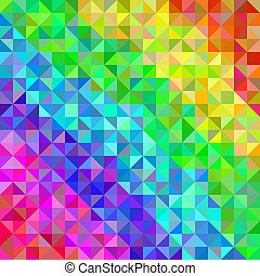 Abstract spectrum background from triangles