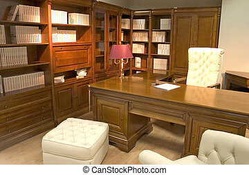 luxurious office - Classical and luxurious office with huge...