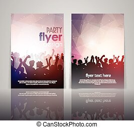 party flyer design 2502