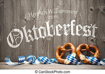 Plano de fondo, para, Oktoberfest,