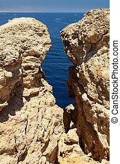 Ras Mohammed - National park Ras Mohammed in Egypt. Sea...