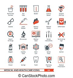 Medical Icons Set 04 - Medical and Health Care Icons Set 04