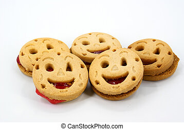 cookie - jolly cookie as physiognomy
