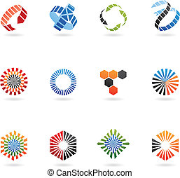 arrow icons: set of 12 - arrow icons: set of 12, isolated on...