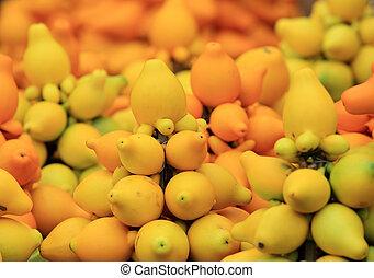 pezón, frutas,