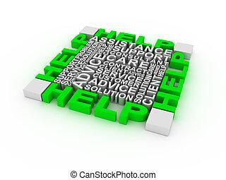 Help concept words