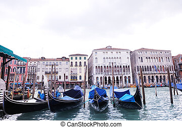 venice italy - venice, beautiful romantic italian city on...