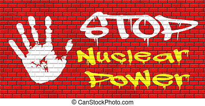 no nuclear power stop radiactivity radio active waste from...