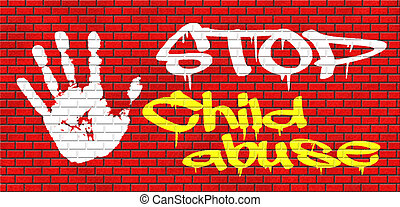 stop child abuse and neglection or violence toward children...