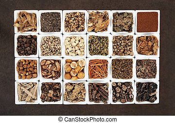 Chinese Medicine - Large chinese herbal medicine selection...
