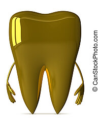 Golden tooth character
