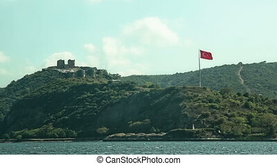 Anadolu Kavagi with Yoros Castle - Sailing by the Anadolu...