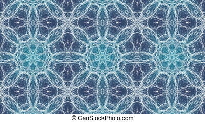 Mystical abstract kaleidoscope - Mystical organic abstract...