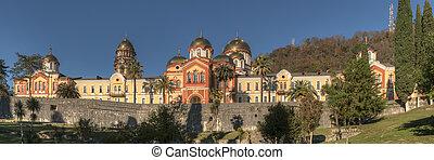 New Athos - monastery in the mountains, New Athos, Abkhazia