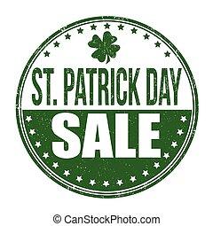 St. Patrick's Day sale stamp