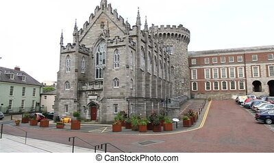 Lower Yard in Dublin Castle - Lower Yard in Dublin Castle in...