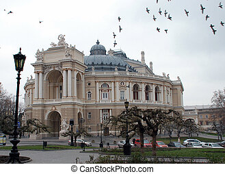Opera and Ballet Theatre in Odessa - Odessa Opera & Ballet...