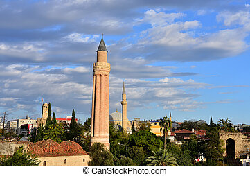 Historical Landmark Grooved Minaret - Yivli Minare