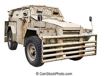 infantería, vehículo,