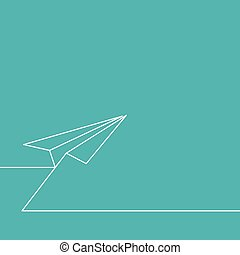 Background for startup - Background for start up Flying...