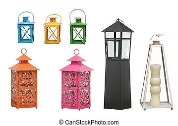 路徑, 燈籠, 花園,  cipping
