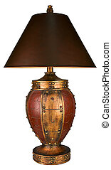 Traditional Style Table Lamp and Shade
