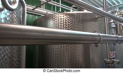 constructions in modern brewery - steel constructions in new...