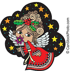 Christmas Angel 6 - Christmas Card Angel 6. Christmas Card...