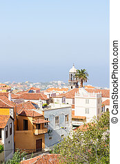 cityscape of Orotava, Tenerife, Spain - cityscape of old...
