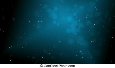 White_blue_particles