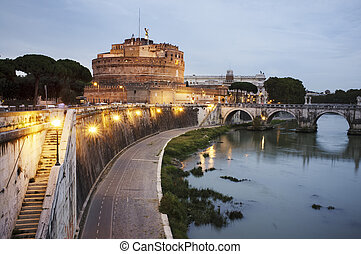 Castel SantAngelo - The Mausoleum of Hadrian, usually known...