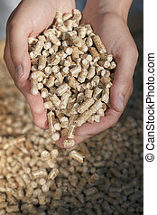 Wood Pellets - Alternative fuel: Pellets made from...