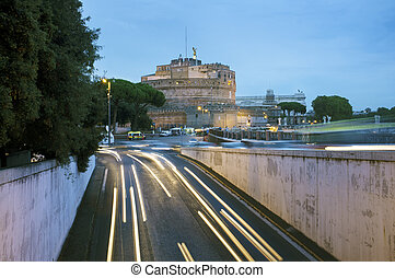 Castel Sant'Angelo - The Mausoleum of Hadrian, usually known...