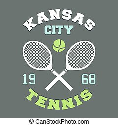 Kansas City Tennis t-shirt - Kansas City tennis...