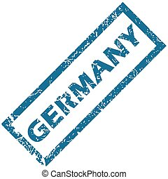 Germany rubber stamp