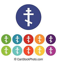 Orthodoxy flat symbol - Orthodoxy flat web flat symbol in...
