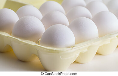 Egg Carton - Bakers dozen of eggs for cook in kitchen