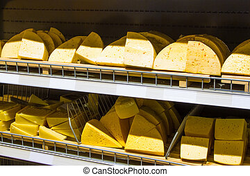 Cheese. Grocery store